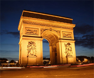 Places to see in Paris: Arch of Triumph